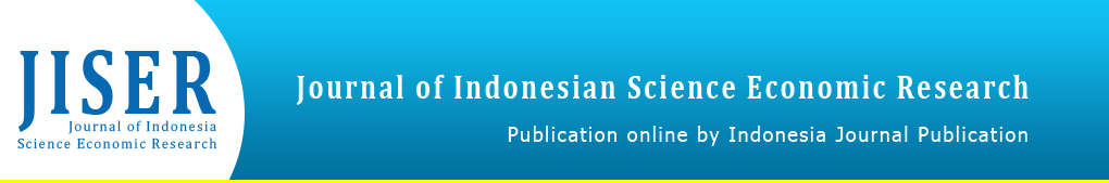 Journal of Indonesia Science Economic Research